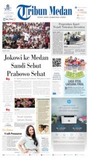 Cover Tribun Medan 06 April 2019