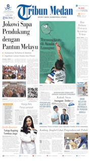 Cover Tribun Medan 07 April 2019
