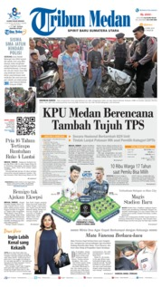 Cover Tribun Medan 09 April 2019