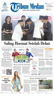 Cover Tribun Medan 14 April 2019