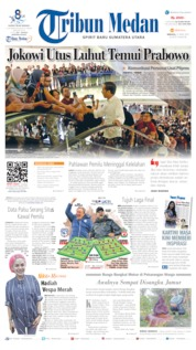Cover Tribun Medan 21 April 2019