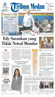 Tribun Medan Cover 23 April 2019