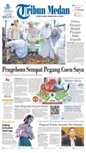 Cover Tribun Medan 24 April 2019
