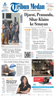 Cover Tribun Medan 25 April 2019