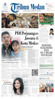 Cover Tribun Medan 14 Mei 2019