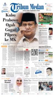 Cover Tribun Medan 16 Mei 2019