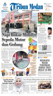 Cover Tribun Medan 17 Mei 2019