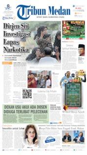 Cover Tribun Medan 18 Mei 2019