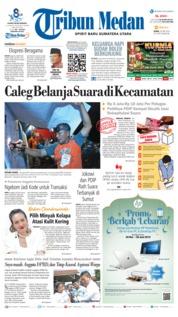 Cover Tribun Medan 20 Mei 2019