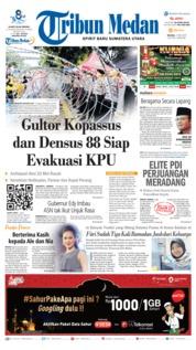 Cover Tribun Medan 21 Mei 2019