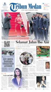 Cover Tribun Medan 02 Juni 2019