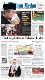 Cover Tribun Medan 03 Juni 2019