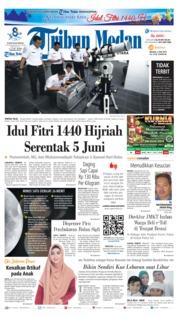 Cover Tribun Medan 04 Juni 2019