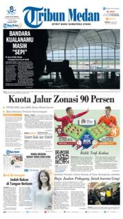 Tribun Medan Cover 09 June 2019