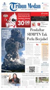 Tribun Medan Cover 10 June 2019