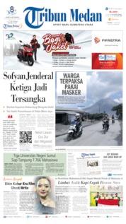 Tribun Medan Cover 11 June 2019