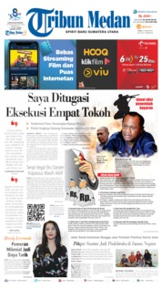 Tribun Medan Cover 12 June 2019
