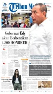Tribun Medan Cover 13 June 2019