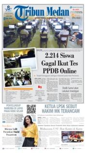Tribun Medan Cover 15 June 2019