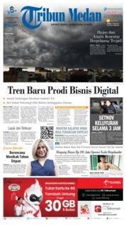 Tribun Medan Cover 17 June 2019