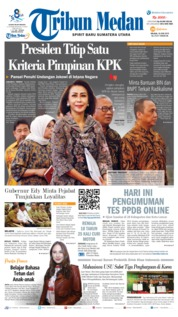 Cover Tribun Medan 18 Juni 2019