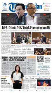 Cover Tribun Medan 19 Juni 2019