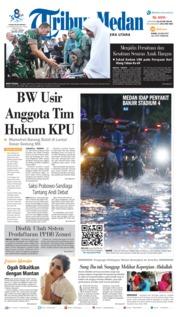 Cover Tribun Medan 20 Juni 2019