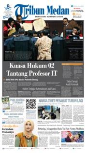 Cover Tribun Medan 21 Juni 2019