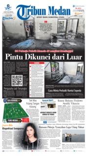 Cover Tribun Medan 22 Juni 2019