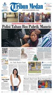 Cover Tribun Medan 23 Juni 2019