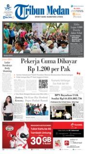 Cover Tribun Medan 24 Juni 2019