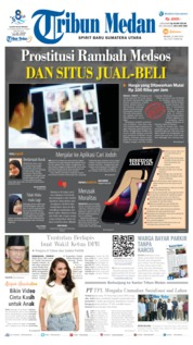 Cover Tribun Medan 25 Juni 2019