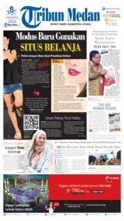 Cover Tribun Medan 26 Juni 2019