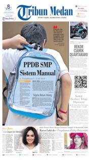 Tribun Medan Cover 30 June 2019