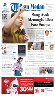 Tribun Medan Cover 08 July 2019