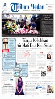 Tribun Medan Cover 09 July 2019