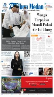 Tribun Medan Cover 10 July 2019
