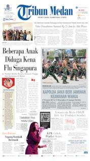 Tribun Medan Cover 11 July 2019