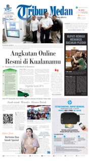 Tribun Medan Cover 12 July 2019