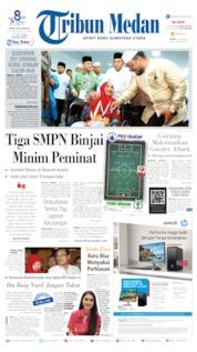 Tribun Medan Cover 13 July 2019