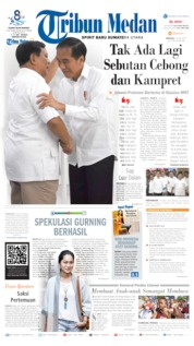 Tribun Medan Cover 14 July 2019