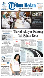 Tribun Medan Cover 16 July 2019