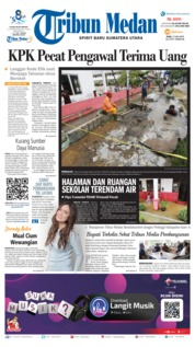Tribun Medan Cover 17 July 2019