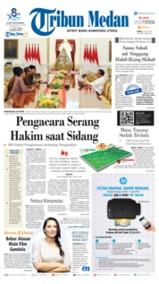 Tribun Medan Cover 19 July 2019