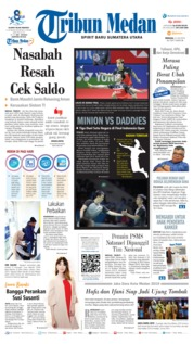 Tribun Medan Cover 21 July 2019