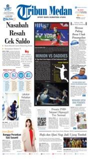 Cover Tribun Medan 21 Juli 2019