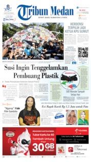 Cover Tribun Medan 22 Juli 2019