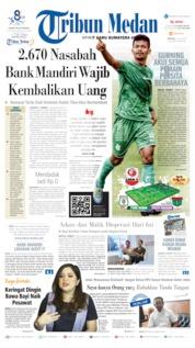 Cover Tribun Medan 23 Juli 2019