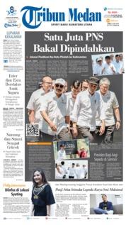 Cover Tribun Medan 31 Juli 2019