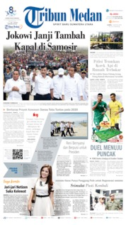 Cover Tribun Medan 01 Agustus 2019